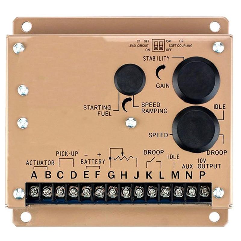 2018 جديد نوع مولد سرعة تحكم Esd5500E سرعة تحكم وحدة Esd سرعة وحة التحكم