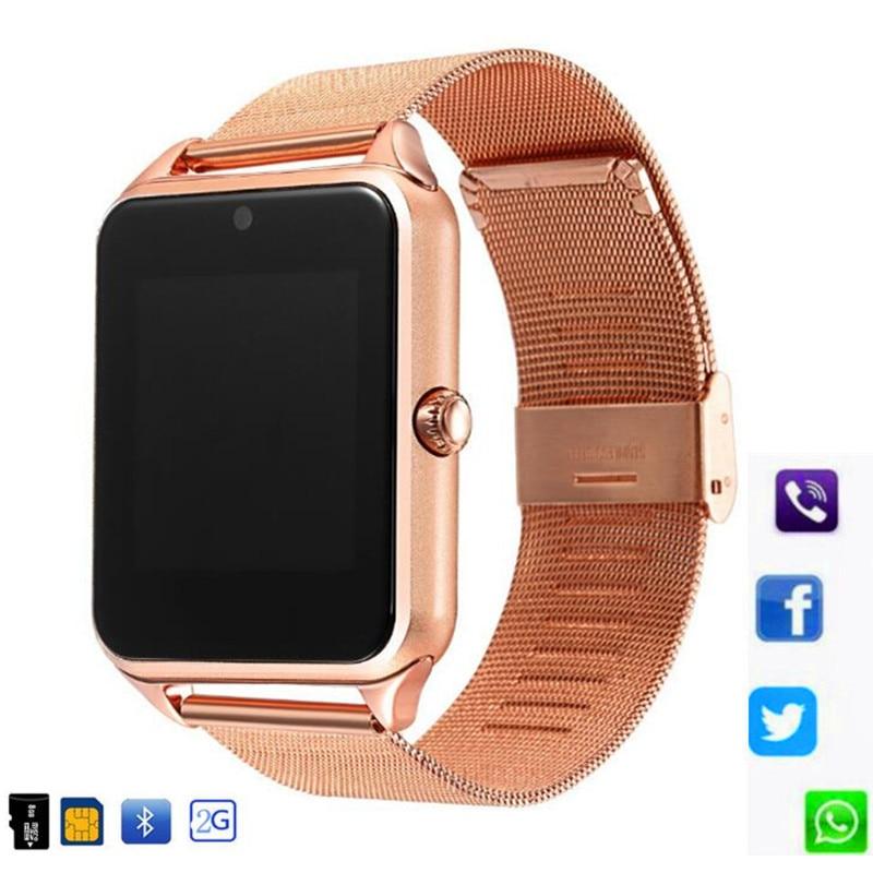 Z60 Смарт-часы с sim-картой Bluetooth SmartWatch Z60 relogio inteligente Smartwatch GT08 Plus reloj inteligente PK GT08 Band