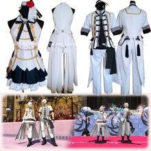 FF14 Final Fantasy XIV Hina Matsuri filles & #039; journée idole Cosplay Costume ensemble