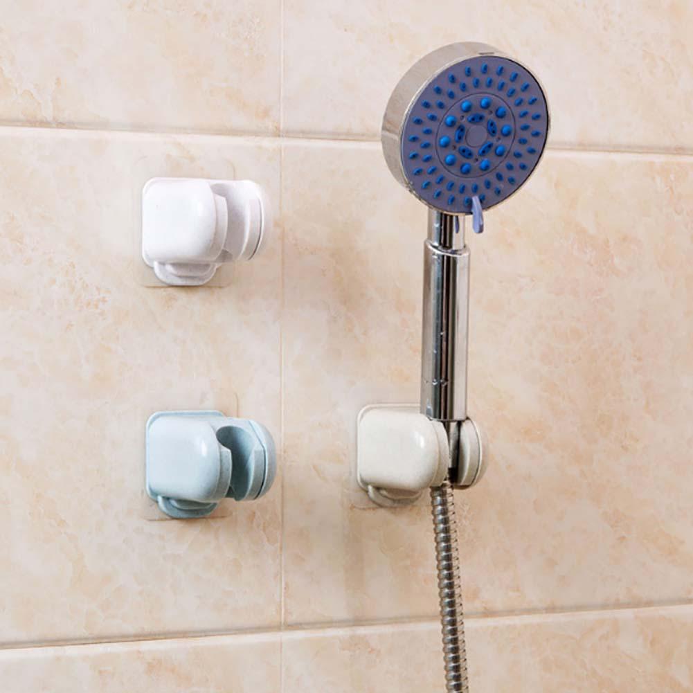 NEW Bathroom Adjustable Shower Head Holder Rack Bracket Suction Cup Shower Holder Wall Mounted Shower Holder Bathroom Accessory