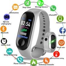 M3 Smart Bracelet Hot Top Brand Smart Watch Sport Heart Rate Blood Pressure Health Tracker Watch Bluetooth Waterproof Smart Band