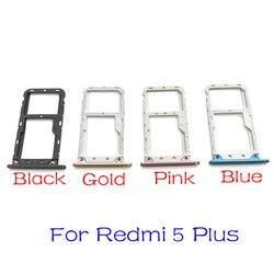 Nova Bandeja Cartão Sim Slot Soquete Adaptadores Para Xiaomi Redmi A2 Lite 6 Pro S2 6 Pro 5 Mais Habitação peças de Reposição