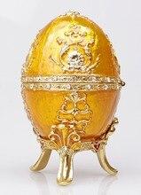 La Petroika Larissa Faberge-Style oeuf émaillé pâques et noël coffret cadeau pour les femmes