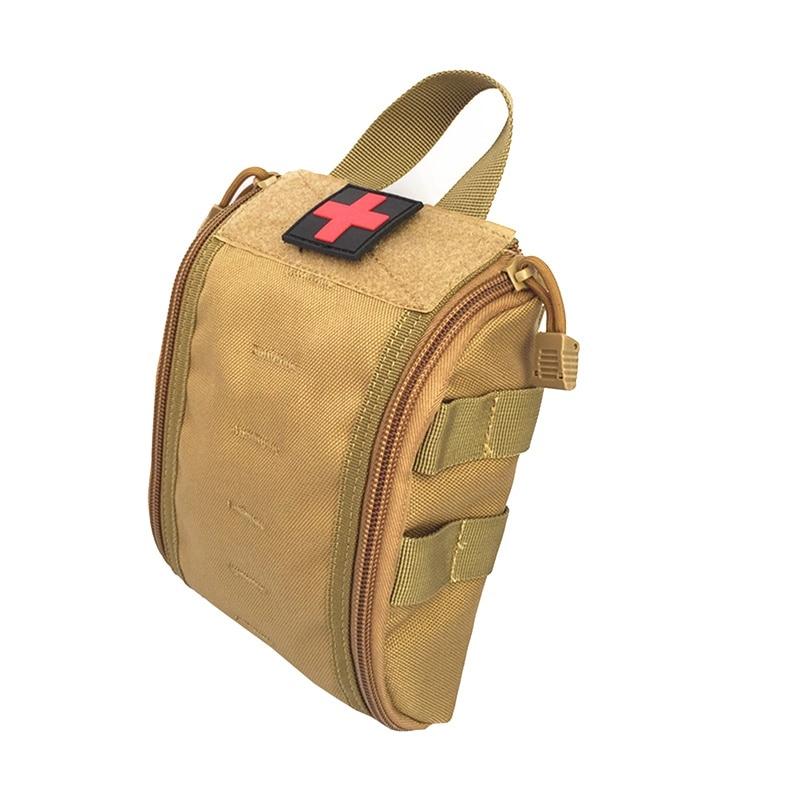 1000D Molle táctico de primeros auxilios chico utilidad accesorio médico bolsa de cintura bolsa médica de supervivencia bolsa de Nylon