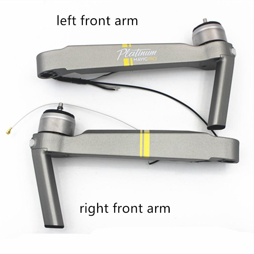 100% piezas de repuesto originales Mavic Pro Platinum para reparación de brazo de pierna DJI Mavic Pro
