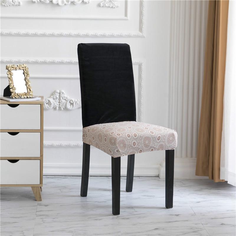 Чехлы для сидений из спандекса для свадебного банкета и обеденного стула без спинки