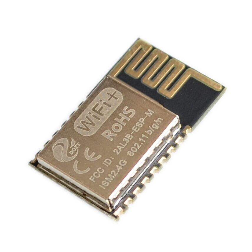 10 unids/lote oficial DOIT Mini ESP-M2 de tamaño Ultra pequeño de esp8285 Módulo de transmisión WiFi inalámbrico Serial totalmente Compatible