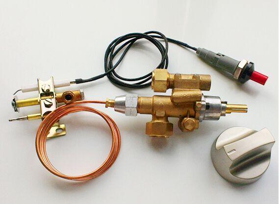 Auto Shut Off Gas Safely Valve Thermocouple Valve Pilot Fire Safe Valve With Piezo Igniter