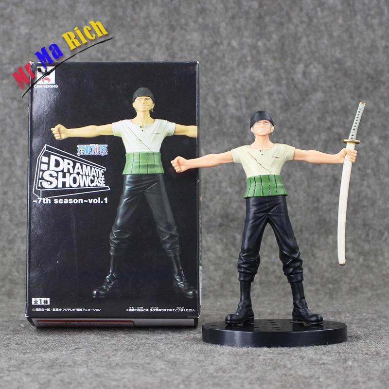 15 Cm Anime caliente pieza Shf Roronoa Zoro Pvc figura de acción de S H Figuarts Modello juguetes muñeca