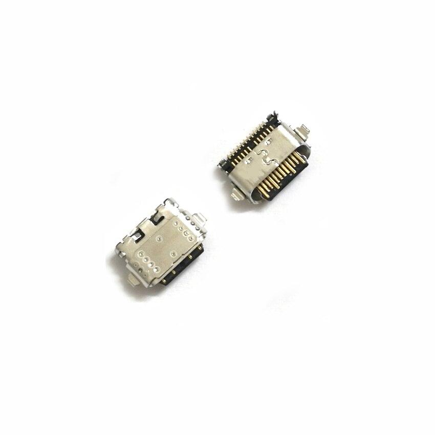 2 pcs USB de Carregamento de Carga Porto Dock Connector Soquete Para Motorola Moto G6 G6 Plus G6 Jogar