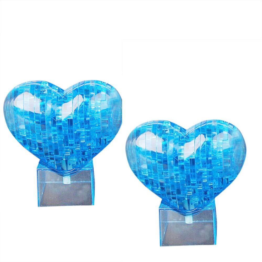 3D кристалл головоломки модель Сделай Сам надпись Любовь Сердце IQ игрушка Furnish подарок Souptoy гаджет RE4 Прямая поставка
