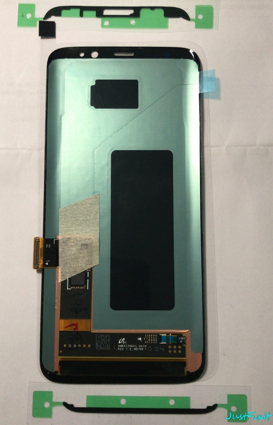 Original Super AMOLED For Samsung Galaxy S8 S8 plus G950f G950 G955 G955F Defect Lcd Display Touch Screen Digitizer With Frame enlarge
