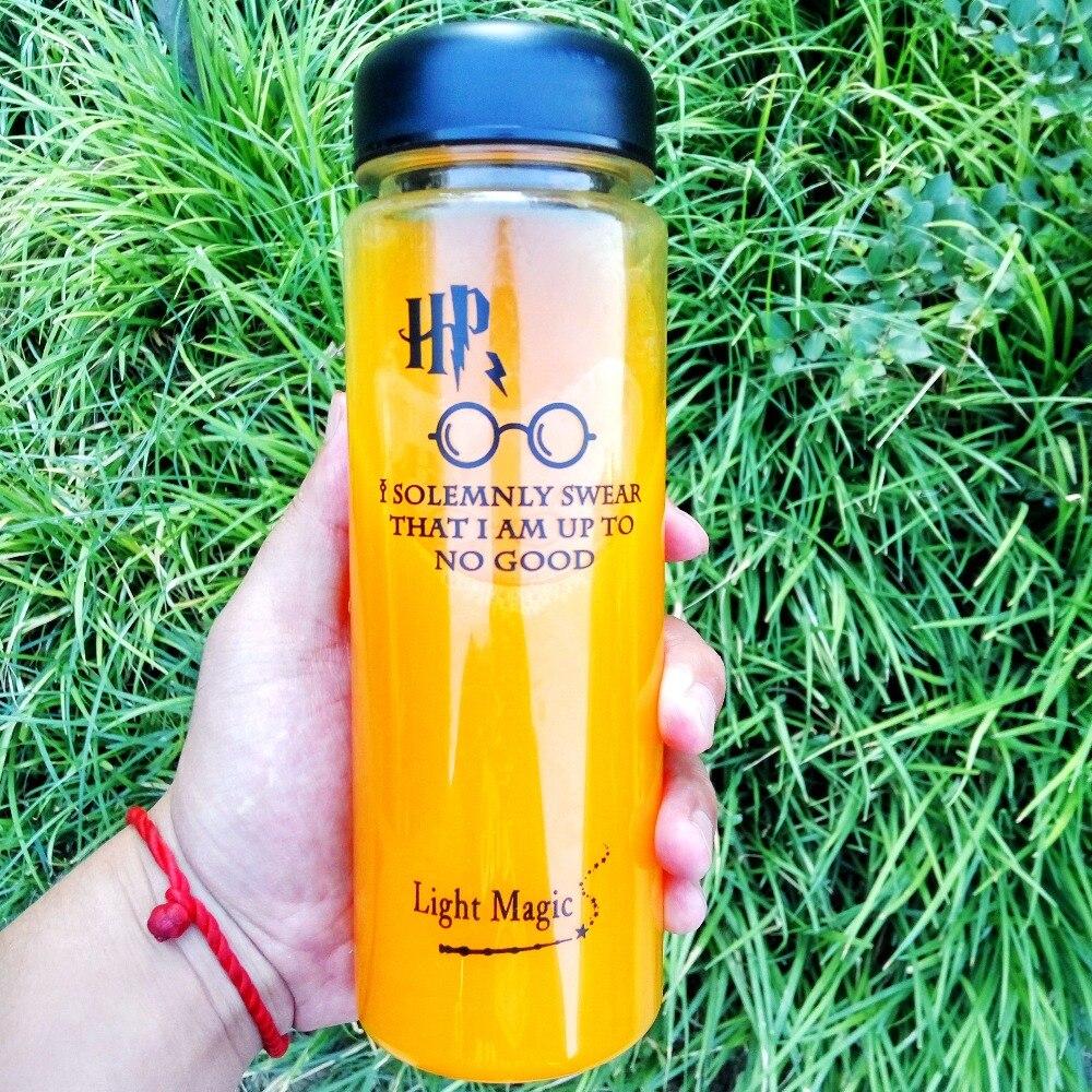 Внешняя бутылка для питья, емкость 500 мл, Экологичная пластиковая бутылка для воды, шейкер