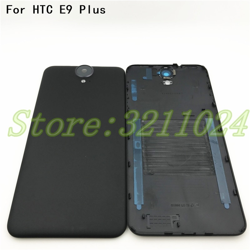 Запасные части корпус батарейного отсека части чехол для HTC One E9 Plus E9 + E9PW E9PT задняя крышка батарейного отсека + объектив камеры