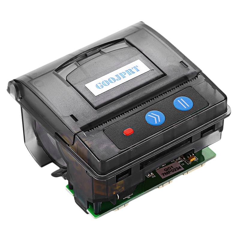 Goojprt Qr203 58Mm Micro-Mini Embedded Thermal Printer Rs232+Ttl Panel Compatible Eml203 for Receipt Ticket Barcode