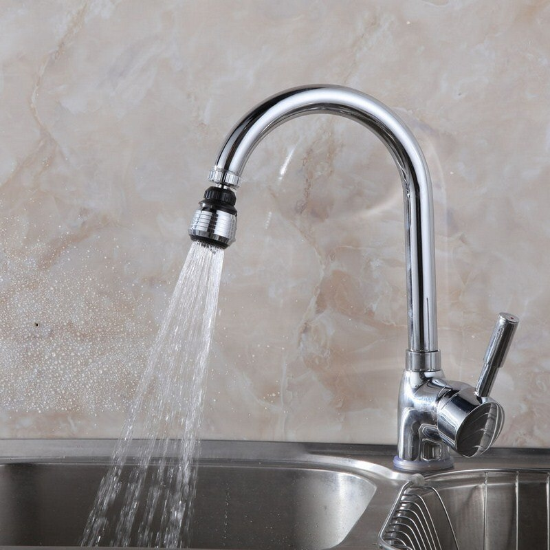 360 Degree Kitchen Faucet Aerator Adjustable Water Diffuser Saving Nozzle 2 Models