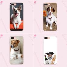 Para Galaxy Grand A3 A5 A7 A8 A9 A9S On5 On7 Plus Pro estrella 2015, 2016, 2017, 2018 TPU diseño personalizado Jack Russel Terrier