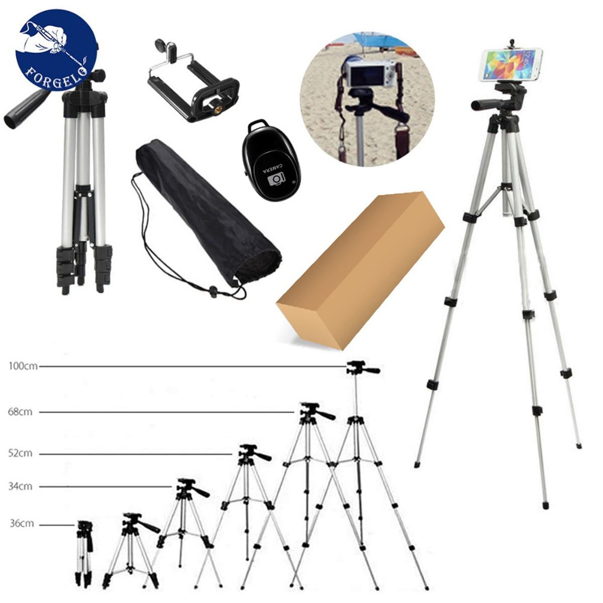 Mini trípode de extensión para teléfono móvil Cámara soporte portátil viaje Selfie trípode soporte para cámara con brazo basculante