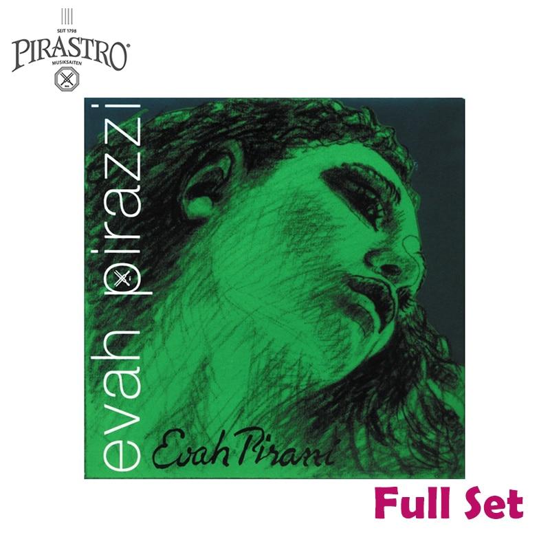Pirastro Evah Pirazzi 419021 4/4 набор веревочек для скрипки-средний калибр-стальной шаровой конец E, полный набор