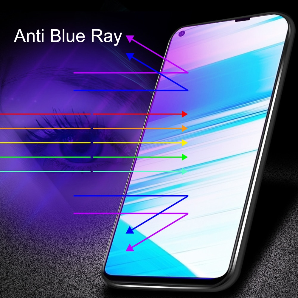 100pcs Glass Protective Film 9D Full Cover Tempered Glass For Vivo Z5X  Screen Protector   Anti Blue Ray  Glass film enlarge