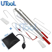 Universal Car Lock Out Tool Kit Unlock Car Door Open Tool Kit With Airbag Locksmith Tools