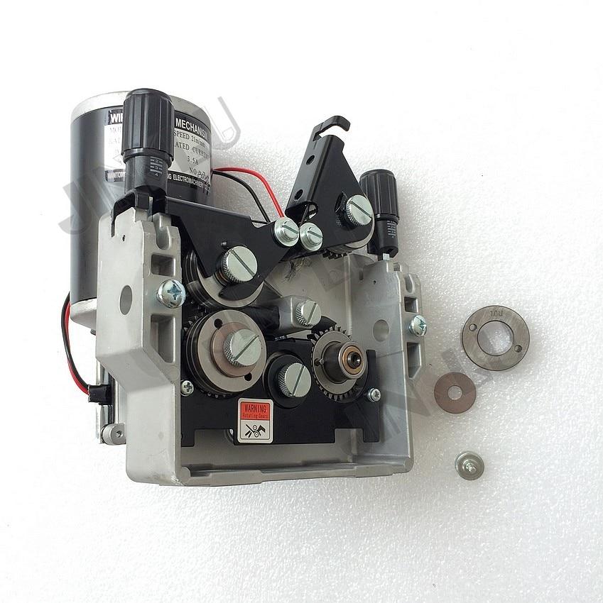 Máquina de alimentação 1pk do motor 1pk do alimentador do fio do mig para a máquina de soldadura do mig mag 76zy-04 dc24 0.8-1.0mm 2.0-21 m/min