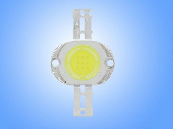 [Sete Neon] Frete grátis 10 pcs forma redonda Alta Potência 30*30 MM 630-720LM S 10 W branco/WWe/rosa/amarelo chips de led smd
