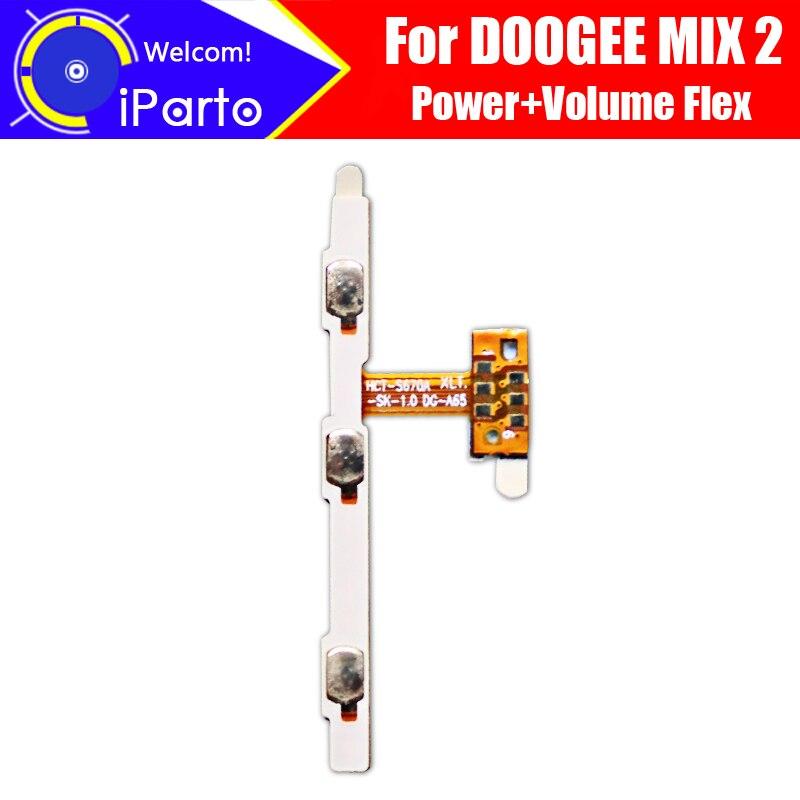 Cable flexible DOOGEE MIX 2 FPC de 5,99 pulgadas 100% accesorios para reparación de Cable Flex de Cable FPC de botón de volumen y encendido Original para DOOGEE MIX 2