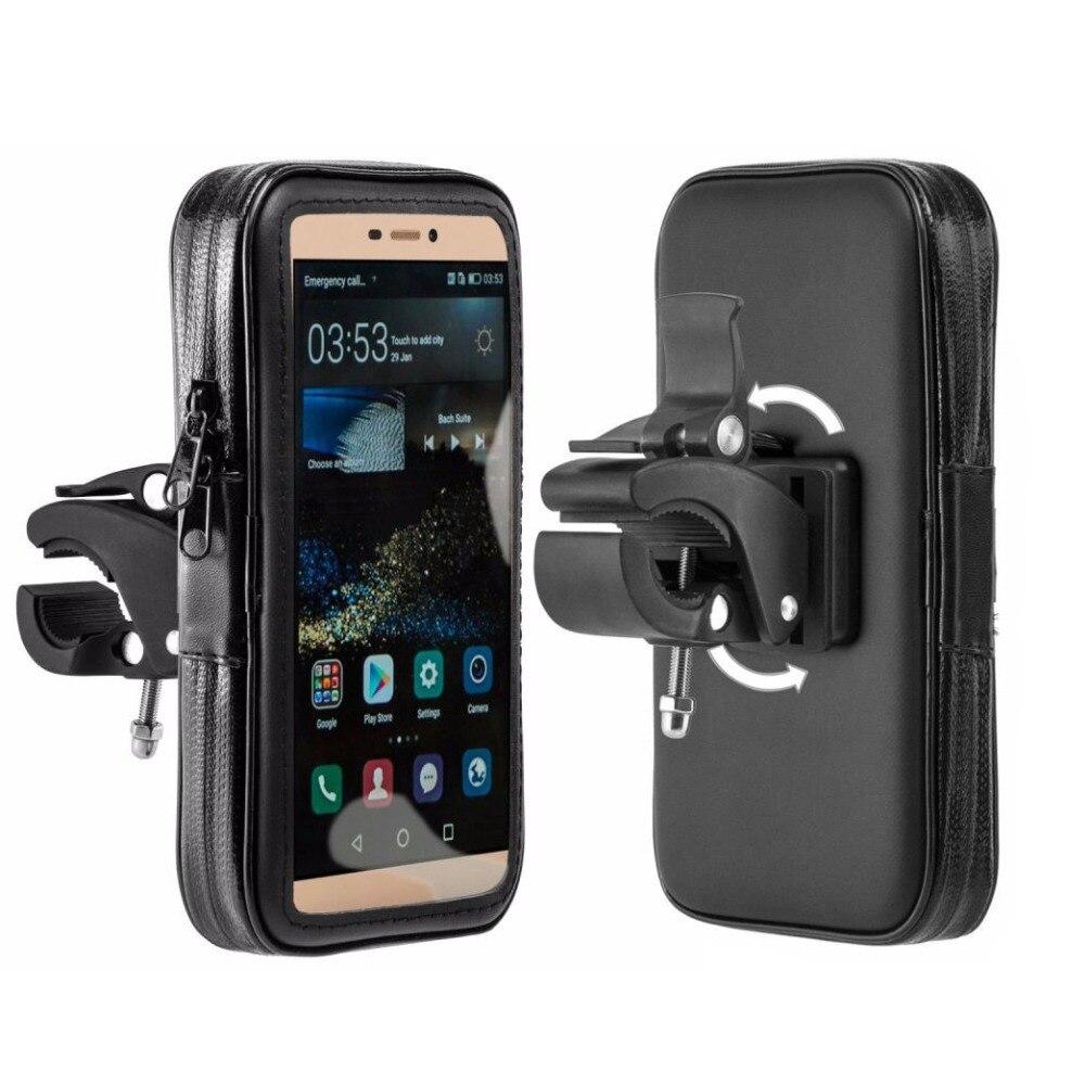 Водонепроницаемая сумка держатель для телефона для мотоцикла подставка для телефона Подставка для iPhone для Samsung велосипед руль для велосипе...