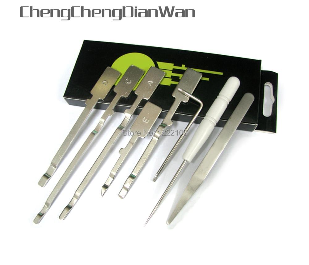 ChengChengDianWan Para xbox XBOX360 360 fino Abrir Ferramenta XCM X8 Magro Desbloqueio Console Unlock Tool Kit de Abertura