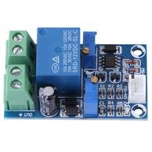 Module de Protection sous-tension 12V 10A   Interrupteur automatique à basse tension coupé sur le panneau de batterie de stockage à récupération