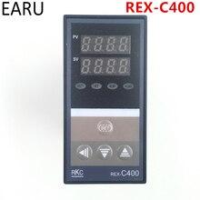 Régulateur de température numérique PID RKC REX-C400 entrée universelle relais sortie SSR pour Machine à emballer automatique Thermostat à chaud