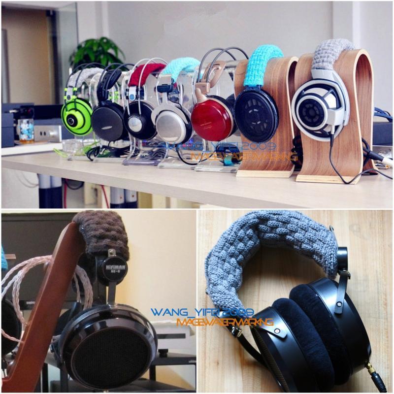 Pure Wool Headband Cushion Top Head Band Pads For Hifiman HE6 HE4 HE500 HE300 HE400 HE5LE Over Ear Headphone