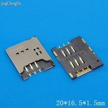 JCD 1 pcs/lot Carte SIM Prise plateau de support de Réparation De Remplacement pour SONY X10 MINI E10I Z1i R800 LT15 X12 MT25I X10
