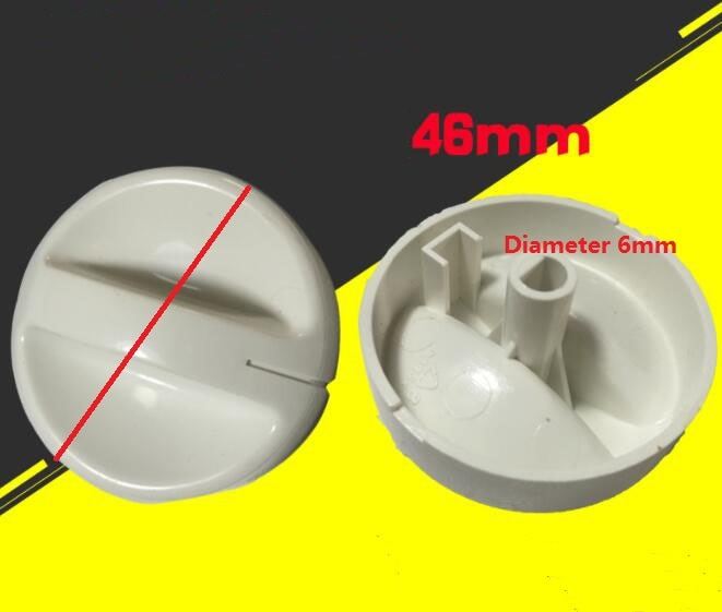 Piezas de horno microondas botones de plástico diámetro del eje D 6mm