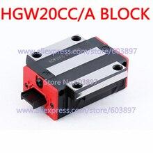 HGW20CA HGW20CC – guide linéaire pour routeur CNC, largeur 20mm