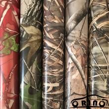 Ombre herbe Realtree vinyle Film ORINO Camouflage enveloppement avec bulle dair adhésif sans autocollant de voiture voiture moto autocollant emballage