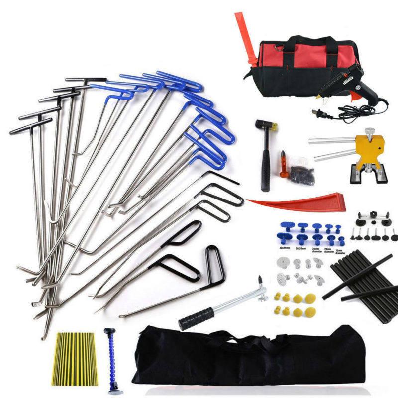 Super Pdr Spring Steel Rods Dent Puller Lifter Glue Sticks Tap Down Hammer Dent Ding Hammer Dent Repair Tools Kit Hand Tool Sets Aliexpress