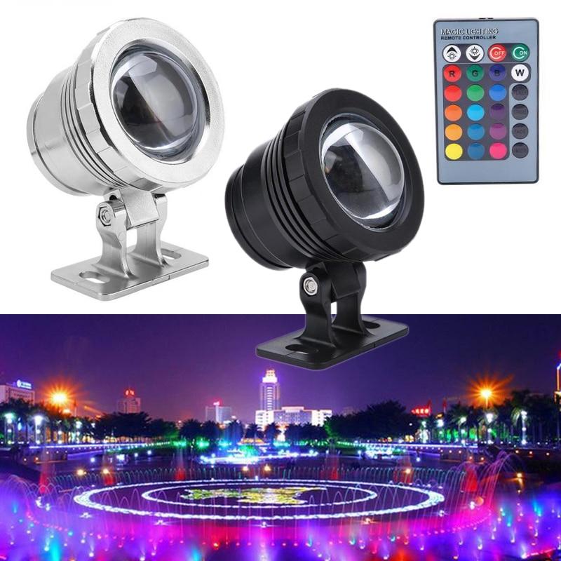 RGB ландшафтный светильник с дистанционным управлением 10 Вт/20 Вт подводный