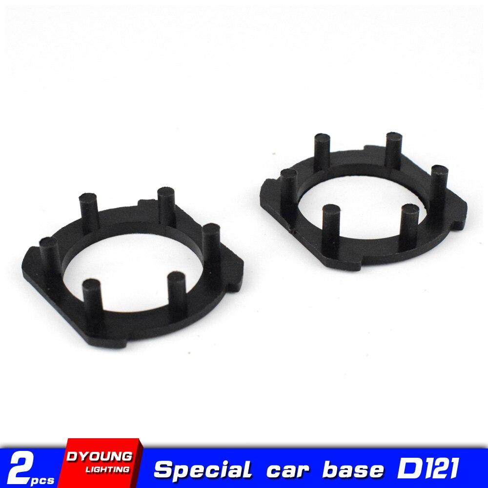 Dyoung 2 uds. D121 h7, accesorios para coche, adaptador h7, bombilla led h7 para Opel para Honda CRV Mazda 3 5 6 M3 M5 M6