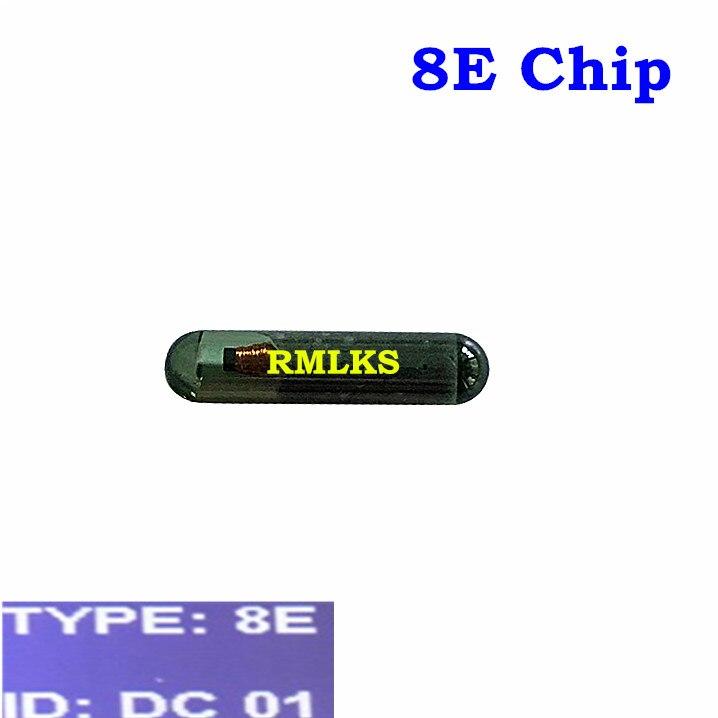 Chip transpondedor para coche, Chip en blanco 8E para Audi ID8E transpondedor, llave del coche con chip en blanco