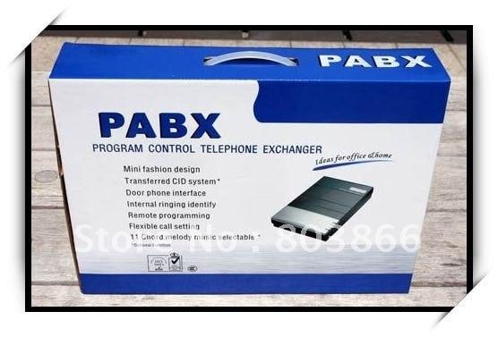 2 خطوط في x 8 ملحقات خارج المكتب ، نظام PBX / PABX ، توريد مصنع PABX للترويج