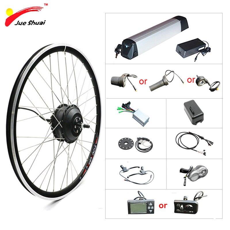 "36V 250 W-500 W Elektrische Fahrrad Kit 20 ""26"" 700C Hub Motor Rad E Bike ebike Conversion Kit Bicicleta Electrica Elektrische Fahrrad"