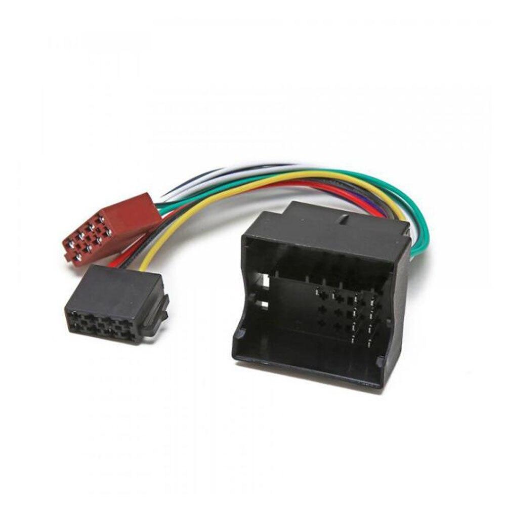 Cable de interruptor Adaptador ISO para Radio de coche para Peugeot Citroen