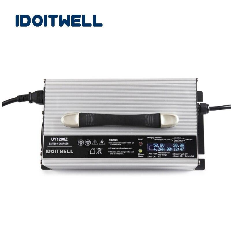 Интеллектуальное зарядное устройство 12 V 50A lifepo4 14,6 V 50A 4S lifepo4 зарядное устройство 12 вольт 150AH 200AH 250AH зарядное устройство