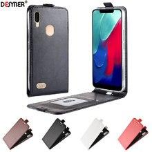 Pour Leagoo M11 étui de luxe portefeuille etui de téléphone en cuir synthétique polyuréthane pour Leagoo M11 M 11 LeagooM11 étui à rabat couverture arrière 6.18 pouces