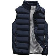 Vest Men 2020 New Autumn Winter Warm Sleeveless Jacket Waistcoat Men's Vest Fashion Casual Coats Mens 5XL