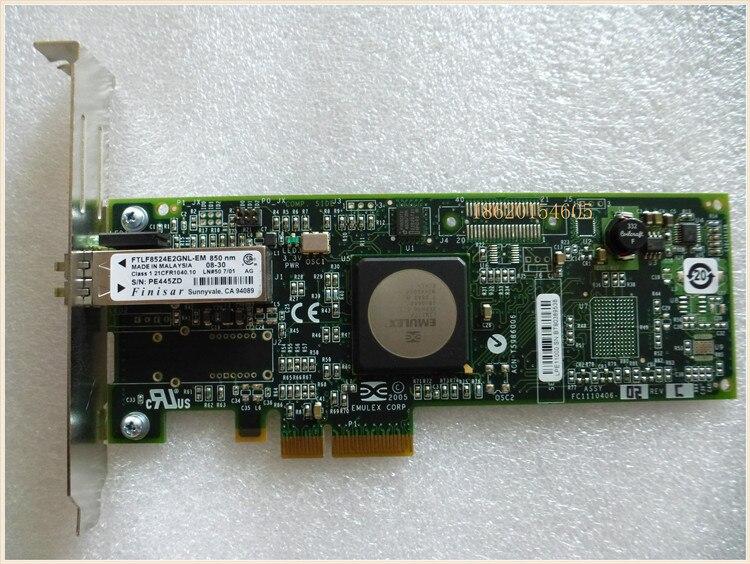 RaidStorage Avago Emulex LPe11000 LPE 11000 4GFC PCIe x4 4Gb Single-Puerto HBA tarjeta