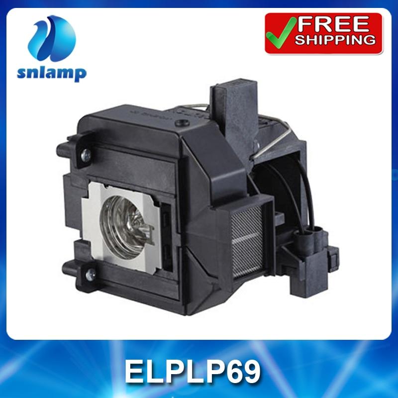 Lámpara de proyector Snlamp reemplazemen ELPLP69 V13H010L69 para EH-TW8000/TW9000/TW9100/PowerLite HC 5010 HC 5020UB/EH-TW8100W /6010