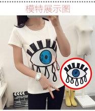 T-Shirt en coudre ou repasser sur de grands yeux   Patchs de paillettes pour tissu de mode, livraison gratuite et prix dusine BT379 5 pièces/lot